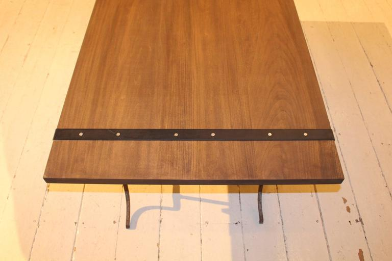 Wood Cocktail Table For Sale 3