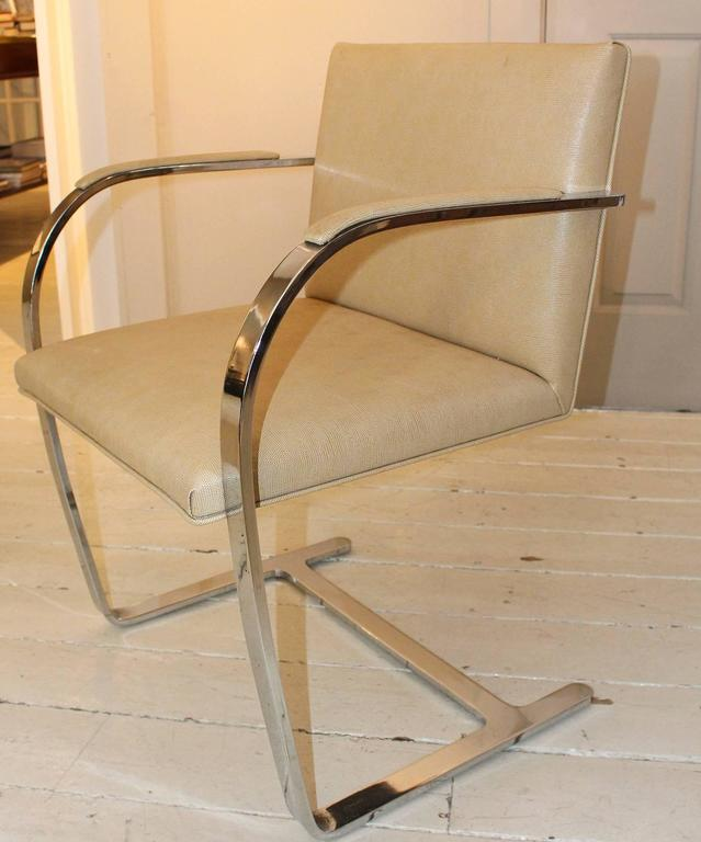 American Pair of Brueton Armchairs For Sale