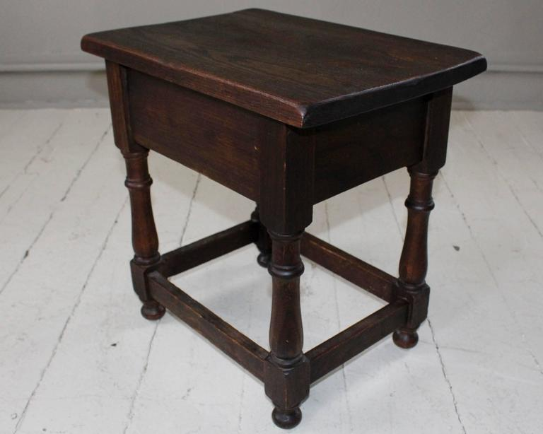 Vintage French Petite Table 6