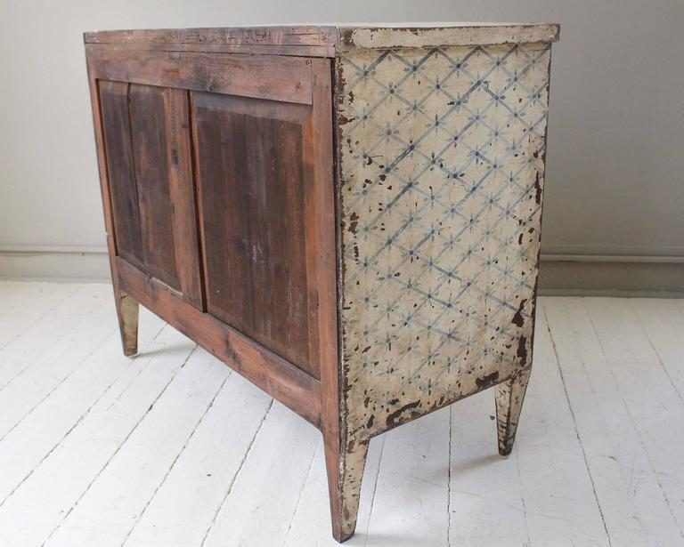 19th Century French Decoratively Painted Chest For Sale 3