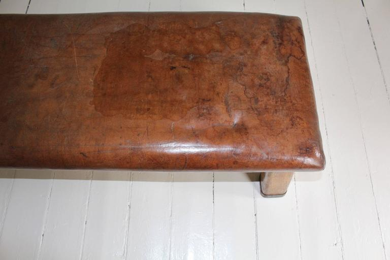 French Leather Gym Bench 7