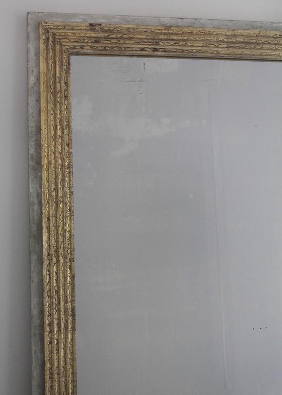 19th Century Directoire Style Mirror In Good Condition For Sale In New Preston, CT