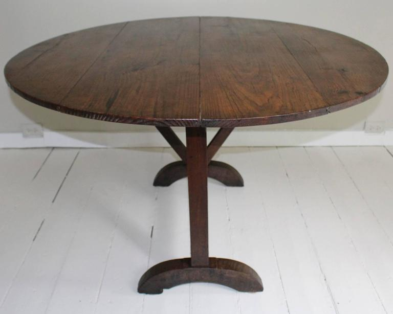 19th Century Tilt-Top Wine Tasting Table 3