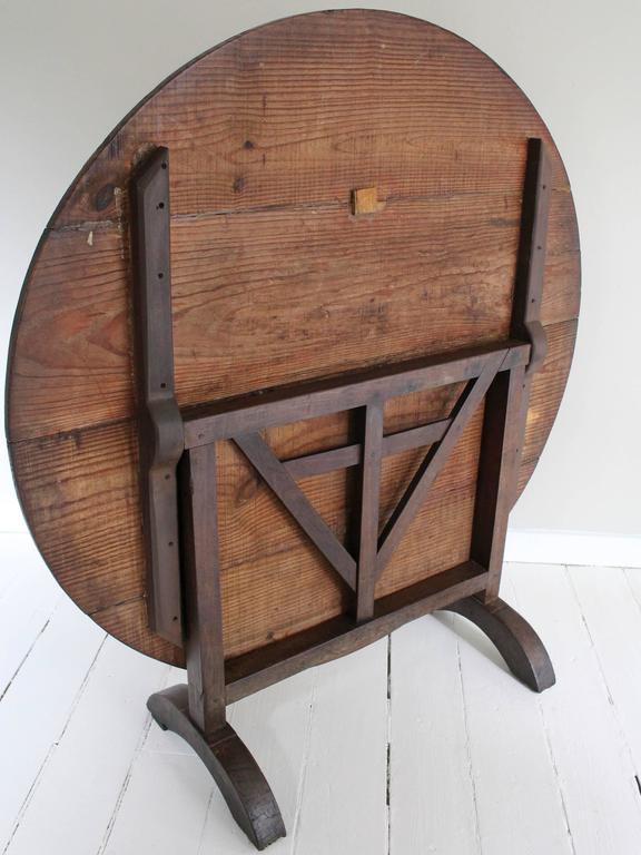 19th Century Tilt-Top Wine Tasting Table 8