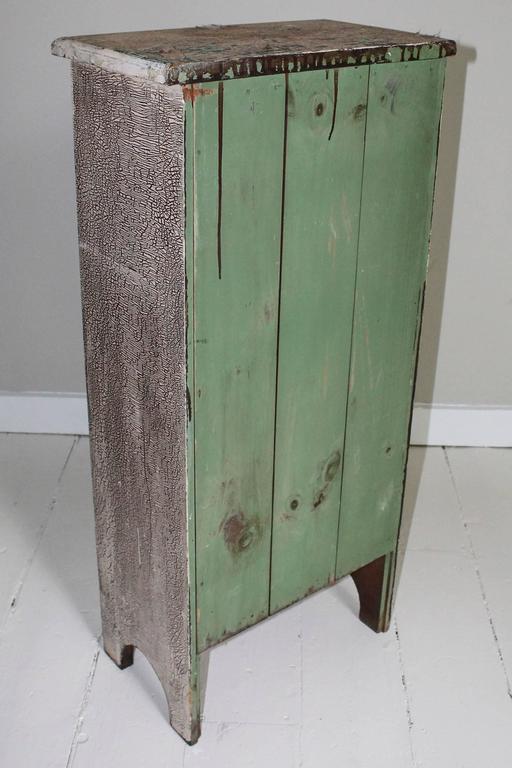 Vintage Attic Chest In Distressed Condition For Sale In New Preston, CT