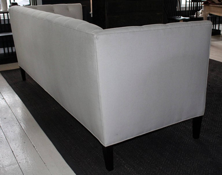 Modern Classic Tuxedo-Style Sofa For Sale 1
