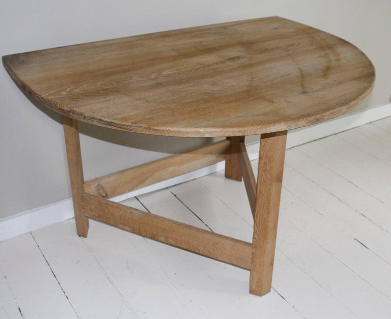 Pair of Modern Demilune Tables For Sale 2