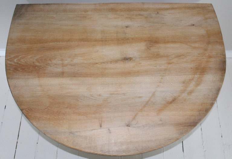 Pair of Modern Demilune Tables For Sale 1