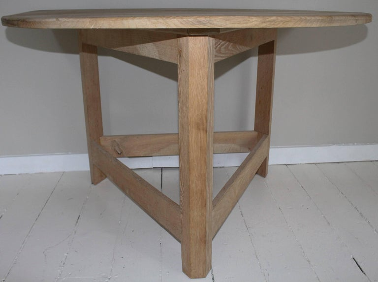 Pair of Modern Demilune Tables For Sale 3