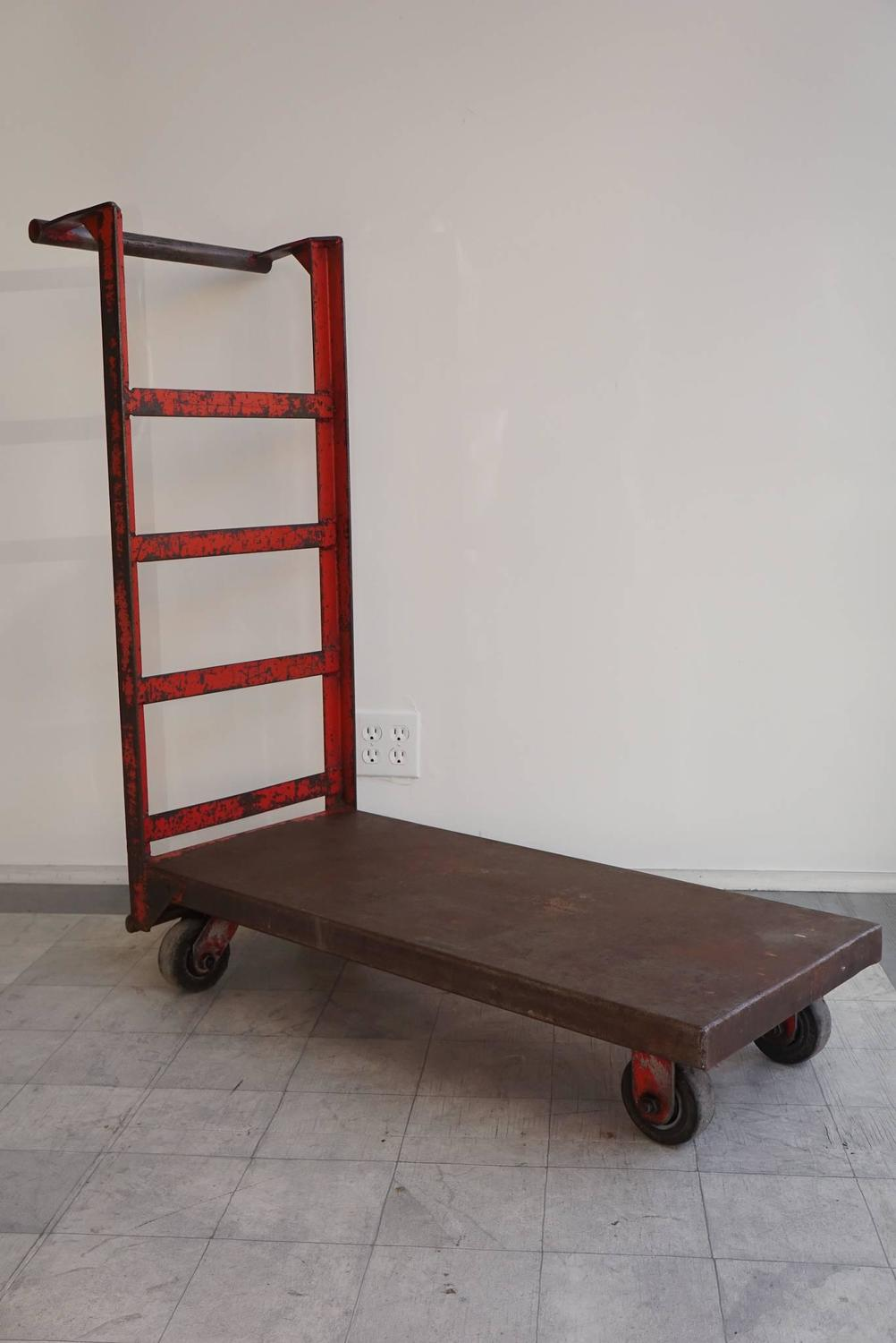 Red hand truck for sale at 1stdibs for Furniture hand truck