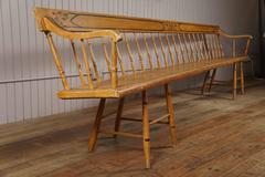 Ten Foot Painted Bench