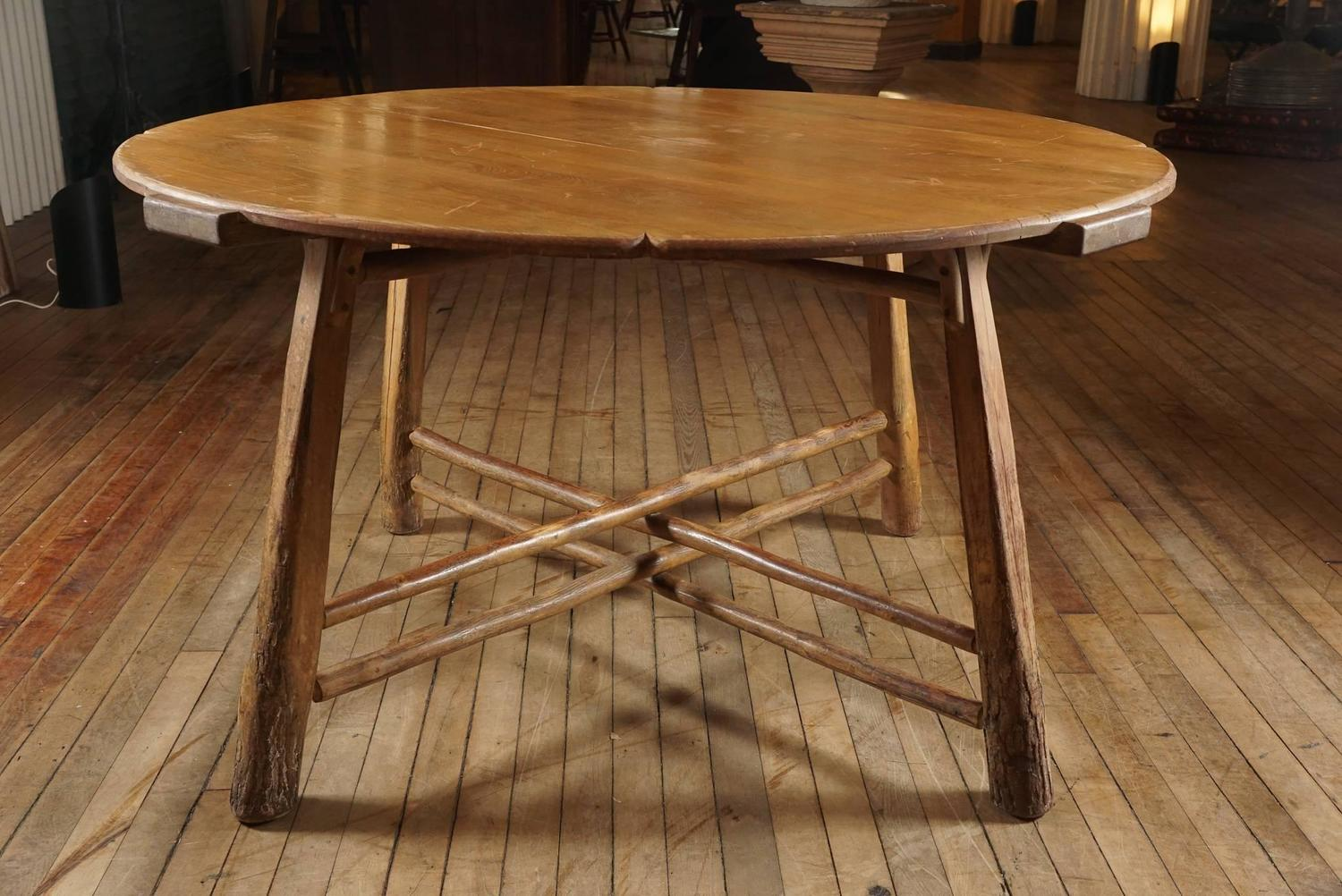 Old Hickory Table at 1stdibs