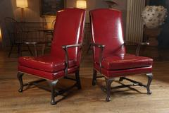 Pair Kittinger Lolling Chairs