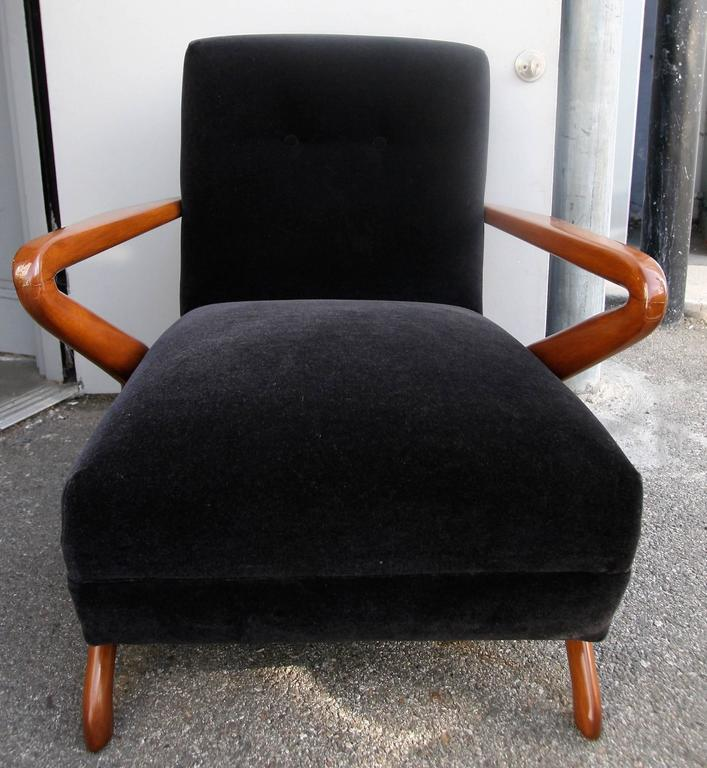 Pair of 1960s Armchairs Attributed to Carlo de Carli 3
