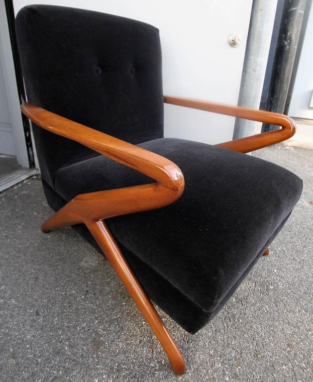 Pair of 1960s Armchairs Attributed to Carlo de Carli 4