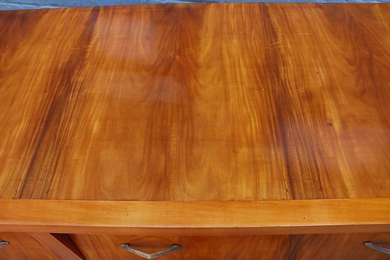 Brass Brazilian Caviuna 1960s Sideboard / Dresser