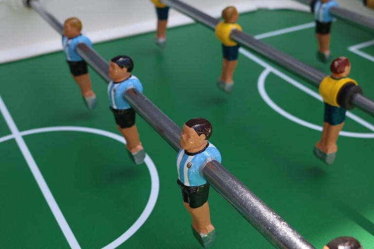 Vintage 1960s Super Estadio Foosball Table For Sale 2