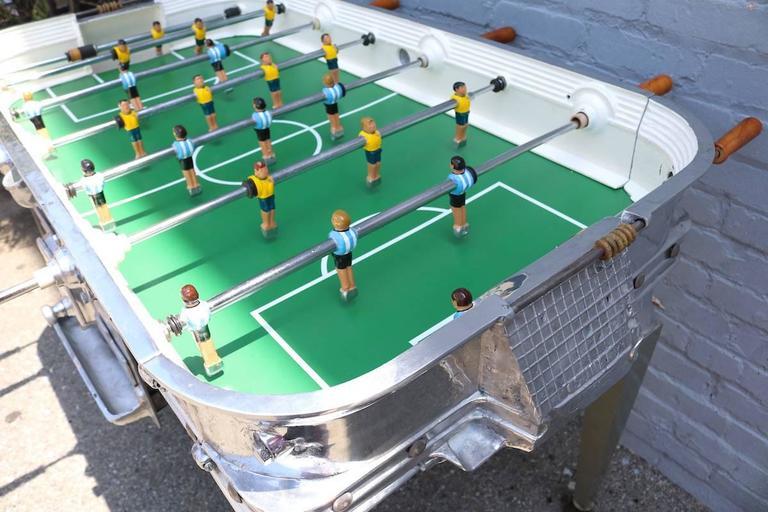 Mid-20th Century Vintage 1960s Super Estadio Foosball Table For Sale