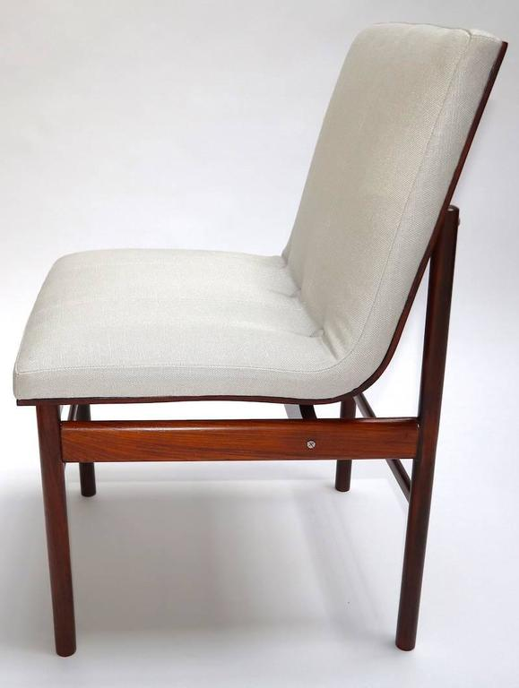 Mid-Century Modern Brazilian Jacaranda 1960s Dining Chairs by Jorge Zalszupin For Sale
