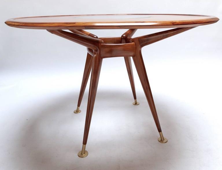 Mid-Century Modern Liceu de Artes 1960s Brazilian Caviuna Dining Table  For Sale