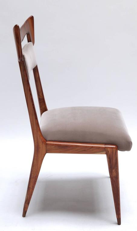 Liceu de Artes 1960s Brazilian Caviuna Dining Table and Chairs 6