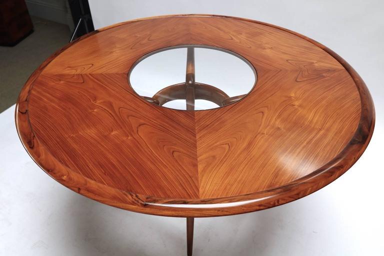 Mid-20th Century Liceu de Artes 1960s Brazilian Caviuna Dining Table  For Sale