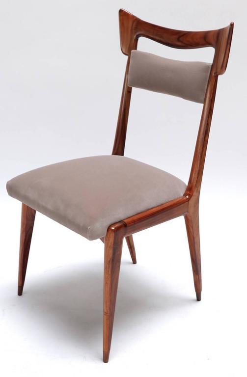 Liceu de Artes 1960s Brazilian Caviuna Dining Table and Chairs 5