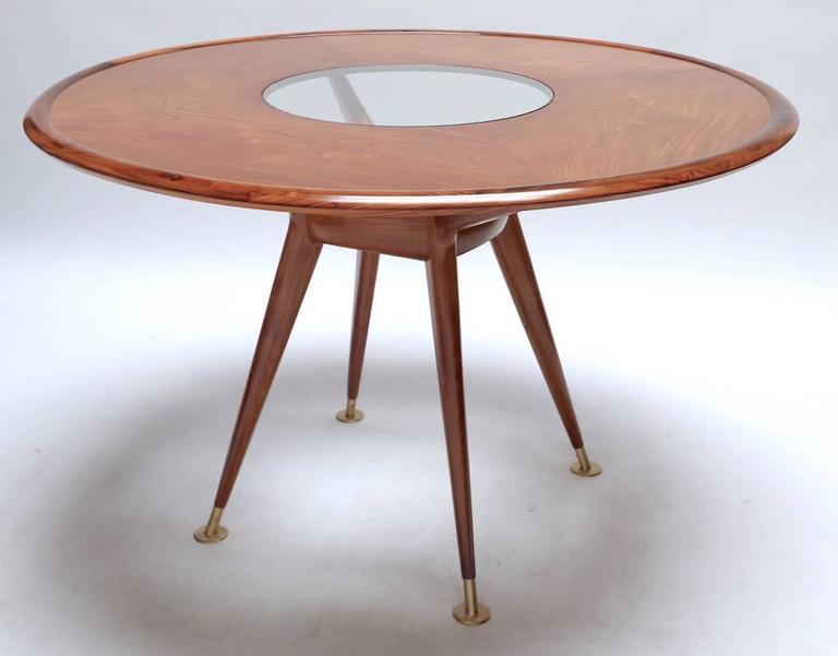 Liceu de Artes 1960s Brazilian Caviuna Dining Table and Chairs 2