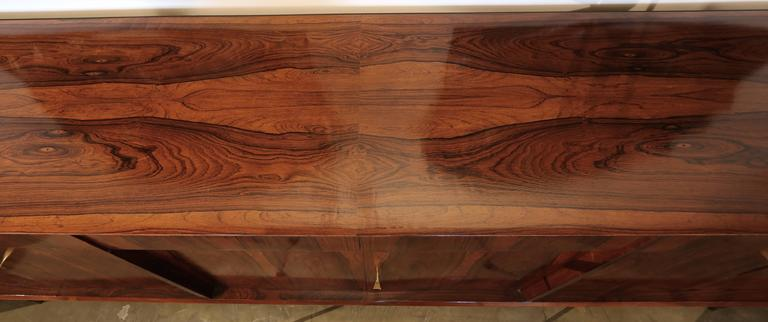 Long Brazilian Jacaranda Sideboard For Sale 5