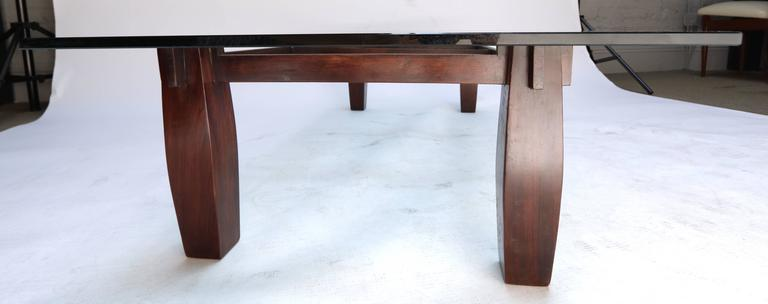 Long 1960s Brazilian Jacaranda Coffee Table by Jorge Zalszupin 5