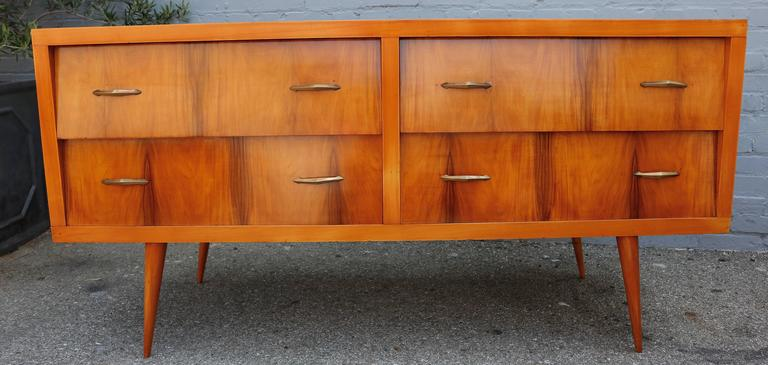 Mid-20th Century Brazilian Caviuna 1960s Sideboard / Dresser