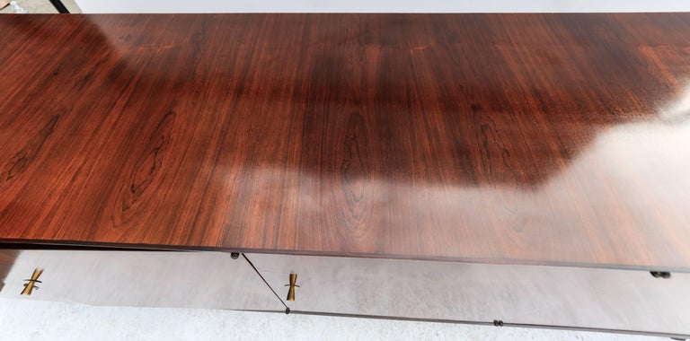 Scapinelli 1960s Brazilian Jacaranda Parquet Sideboard In Good Condition For Sale In Los Angeles, CA
