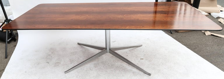 1960s Brazilian Jacaranda Dining Table by Forma For Sale 1