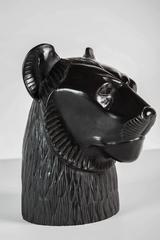 Mid-Century Lion Sculpture