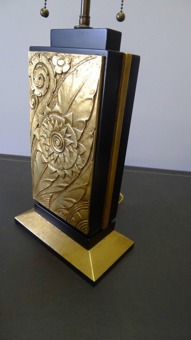 American Art Deco Style Modern Table Lamp by Paul Marra For Sale