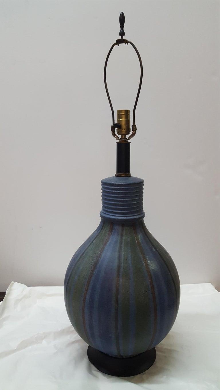 Mid-Century Modern European Table Lamp, circa 1950s For Sale