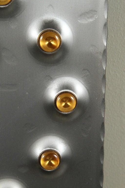Mid-Century Modern Midcentury Brutalist Mod Wall Clock For Sale
