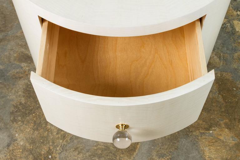 Italian-Inspired 1970s Style Round Nightstand 5