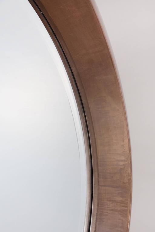 Large Modern Round Arpels Wall Mirror 5