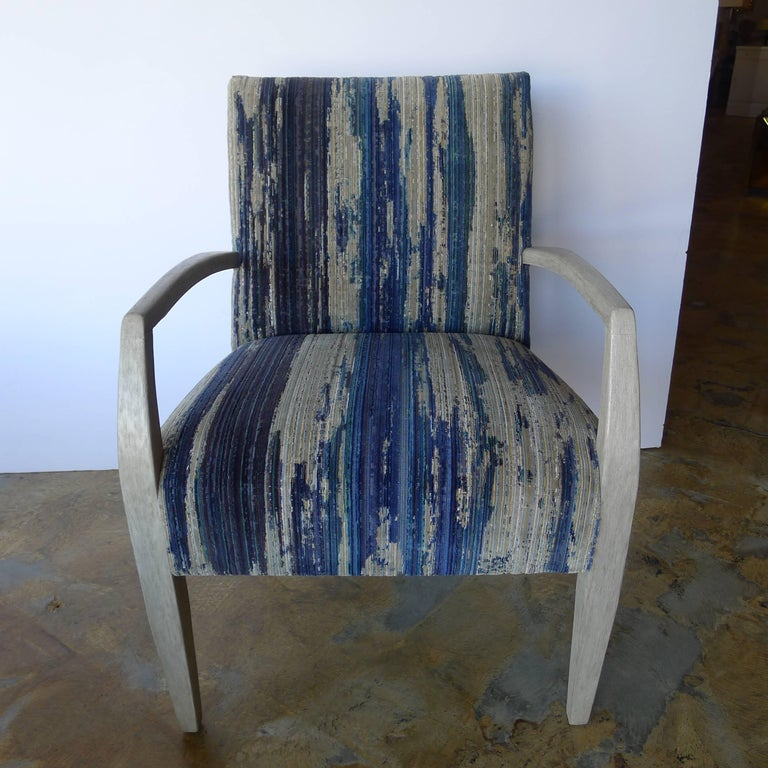 Mid-Century Modern Mid-Century Lounge Occasional Chair Restored For Sale