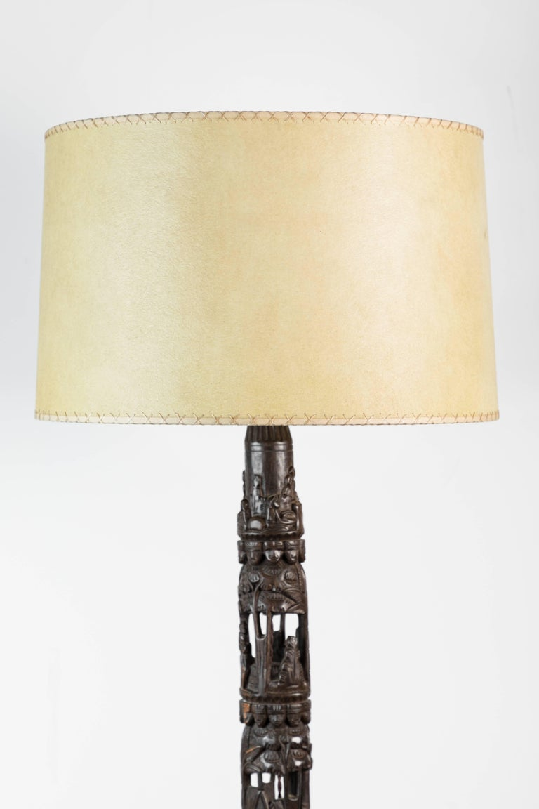 French African Floor Lamp For Sale 1