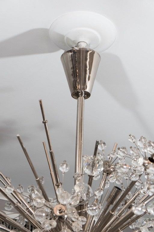 Original Lobmeyr Crystal Sputnik From The Main Floor Of Bergdorf Goodman At 1stdibs