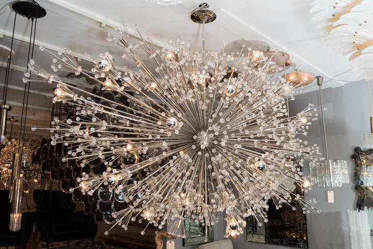 Tremendous Crystal E Sprit Sputnik At 1stdibs