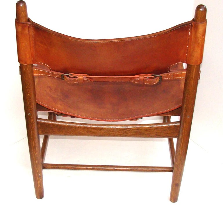 Borge Mogensen Chair Early Productioin In Good Condition For Sale In Lambertville, NJ