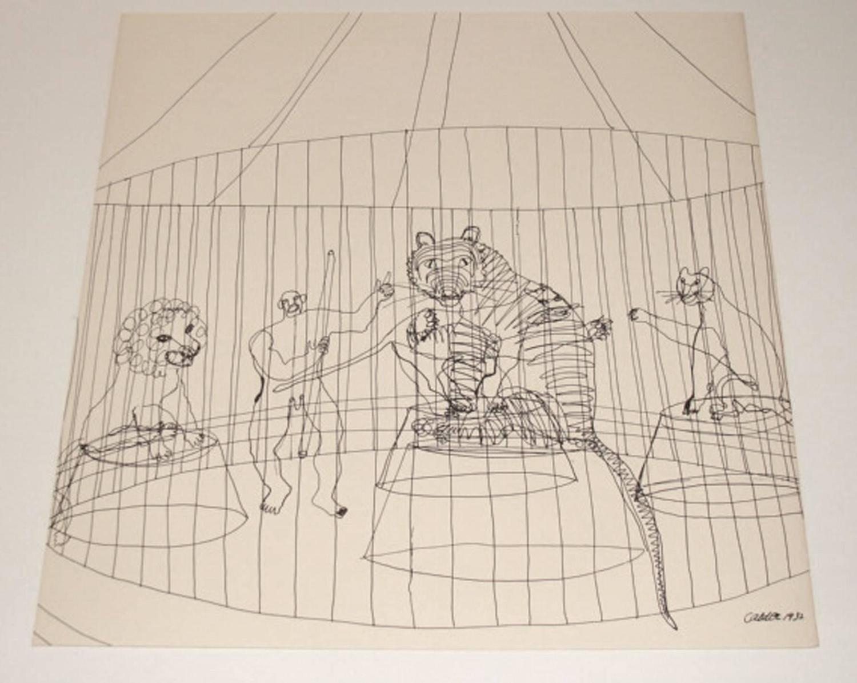 Alexander Calder Circus Drawings Alexander Calder Circu...
