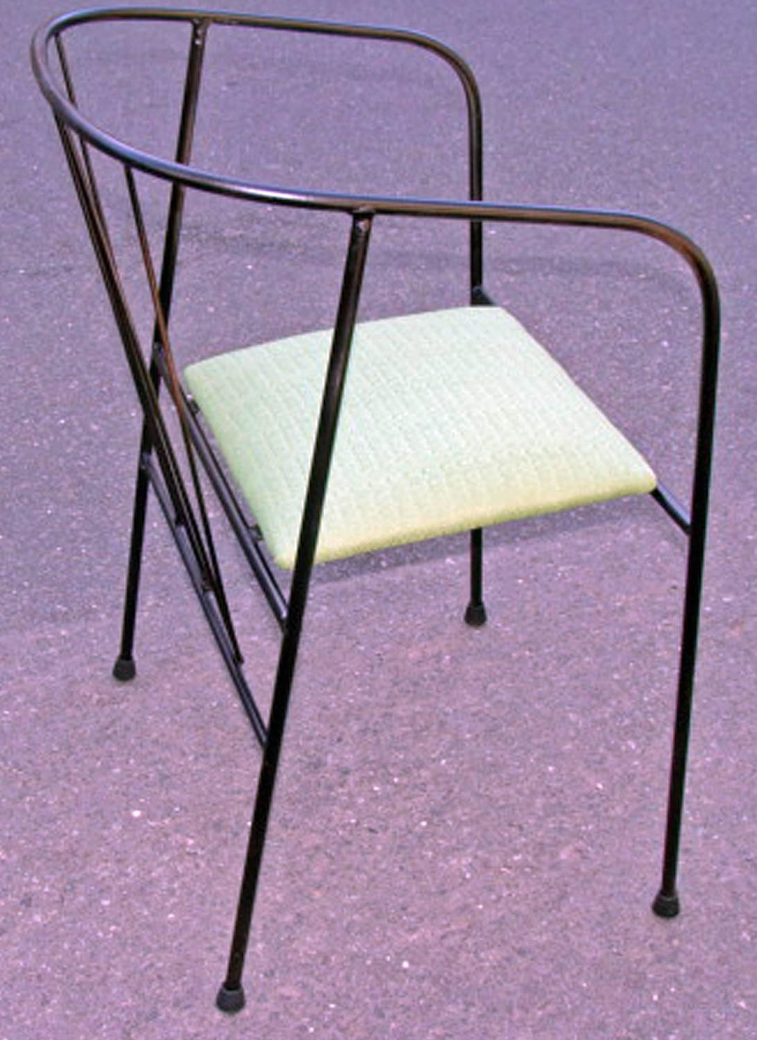 Pair of Mid Century Patio or Garden Chairs at 1stdibs