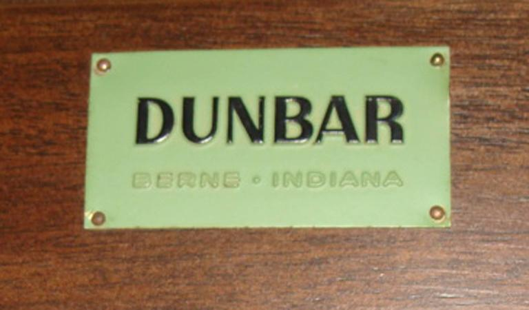 20th Century Edward Wormley Serving Cart for Dunbar For Sale