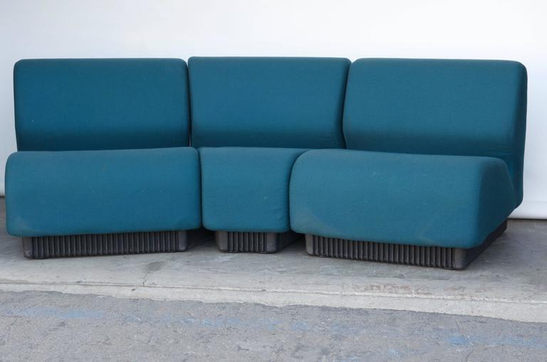 American Modern Modular Settee by Don Chadwick for Herman Miller For Sale