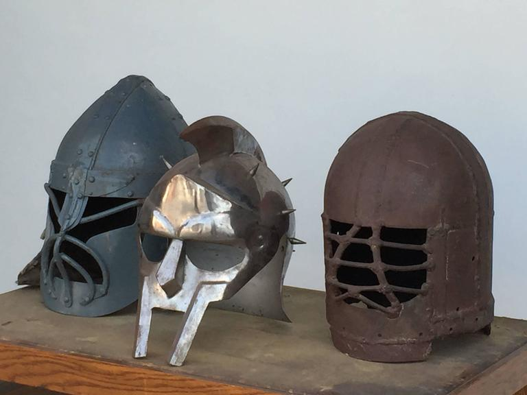 Decorative Collection Of Three Movie Prop Masks For Sale At 1stdibs
