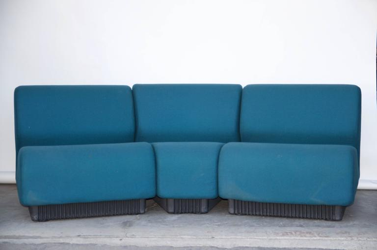 Modular Settee by Don Chadwick for Herman Miller For Sale 1